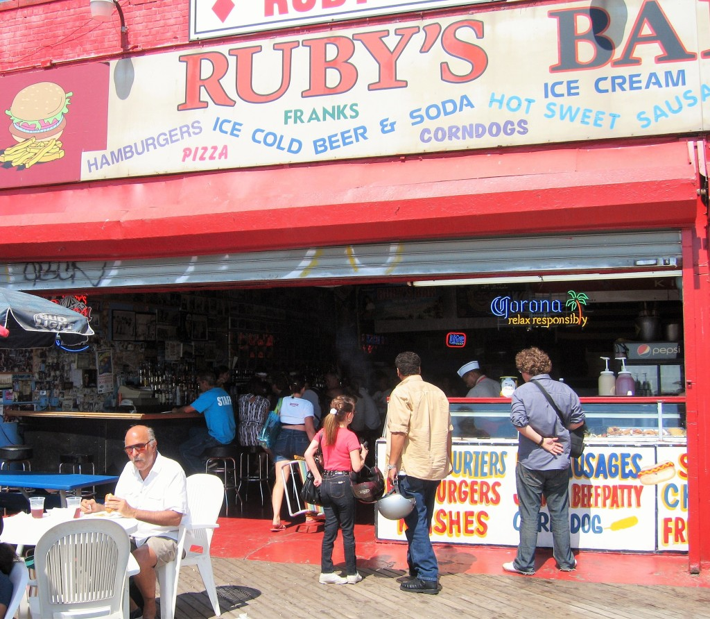 Ruby's - old sign
