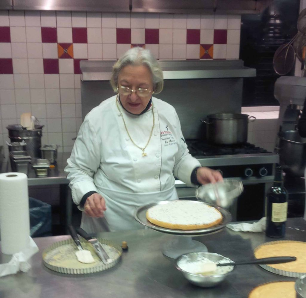 Giovanna making Cassata