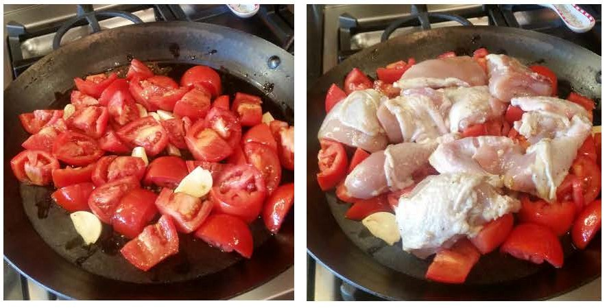 Roast Chicken and Tomatoes