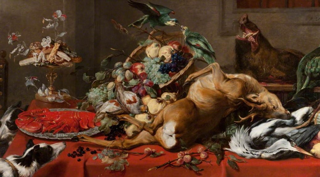 Still-Life-with-Dead-Game-by-Frans-Snyders-1579-1657