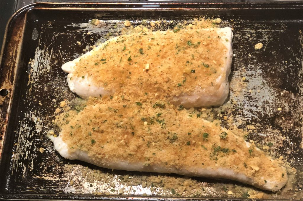 Kristina's Filet with Seasoned Breadcrumbs