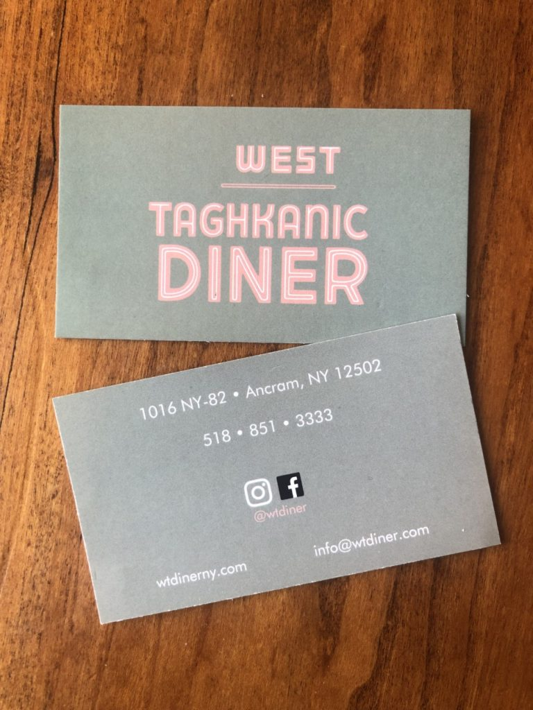 West Taghanic Diner.